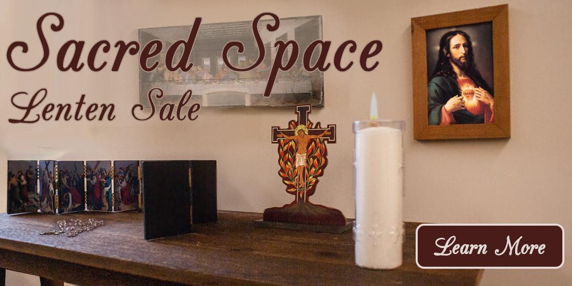 Sacred Space Lenten Sale