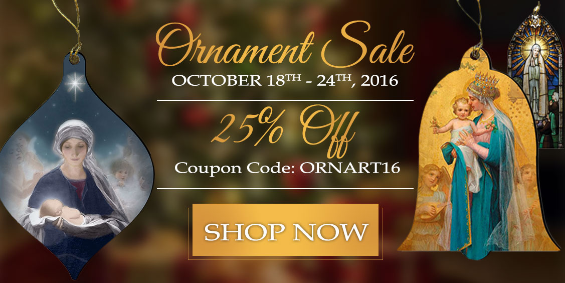 Ornament Sale 25% Off