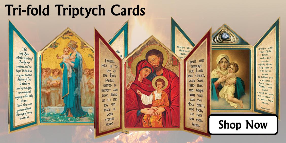 New Tri-fold Triptych Cards