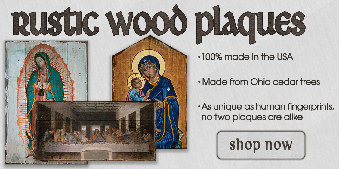 Featured Rustic Wood Plaques