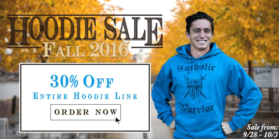 Fall Hoodie Sale 30% Off