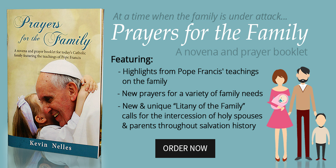 Prayers for the Family novena prayer booklet slide