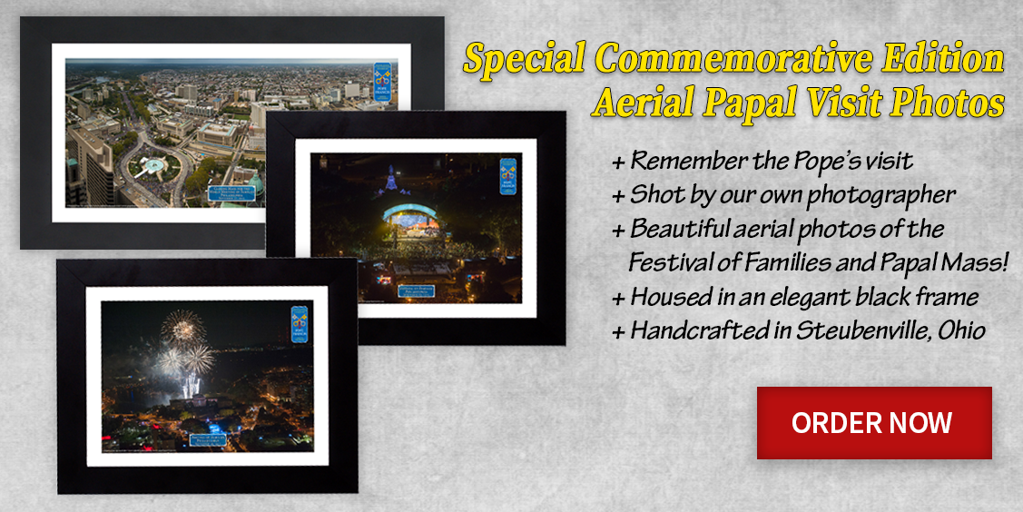 celebrate pope francis' visit with commemorative gifts!